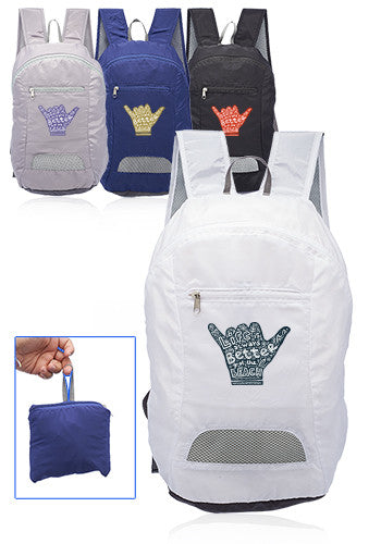 Running Mate Collapsible Silk Soft Backpack