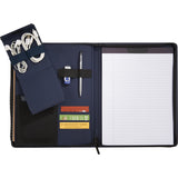 C2032 Classic Zippered Padfolio