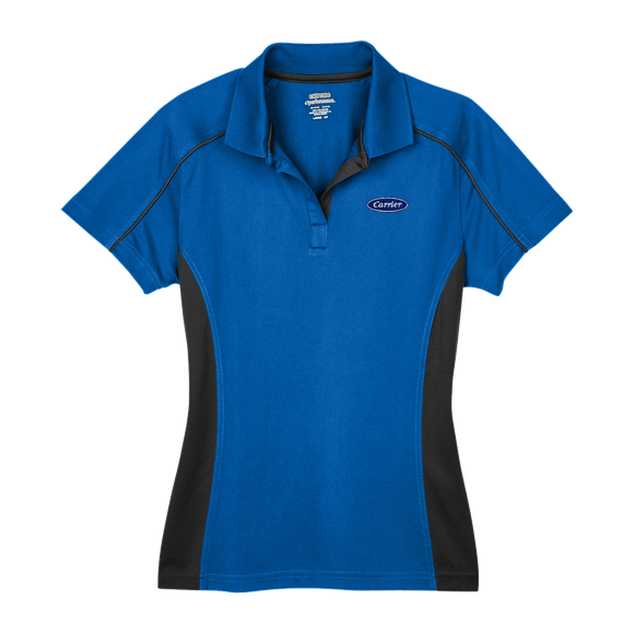 C1418W Ladies Eperformance Fuse Colorblock Polo