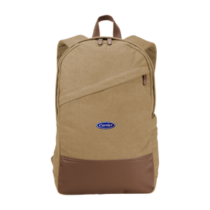 C2043 Cotton Canvas Backpack