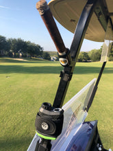 Load image into Gallery viewer, Magnetic Golf Cart Cigar Holder - Available in Black, Yellow, and Red!
