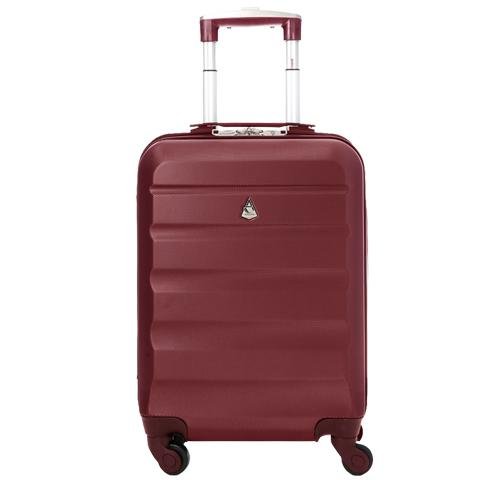 Aerolite (55x35x20cm) Lightweight Cabin Luggage | Wine