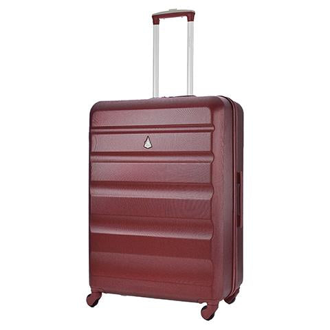 Aerolite (69x50x27cm) Medium Hard Shell Suitcase | Wine