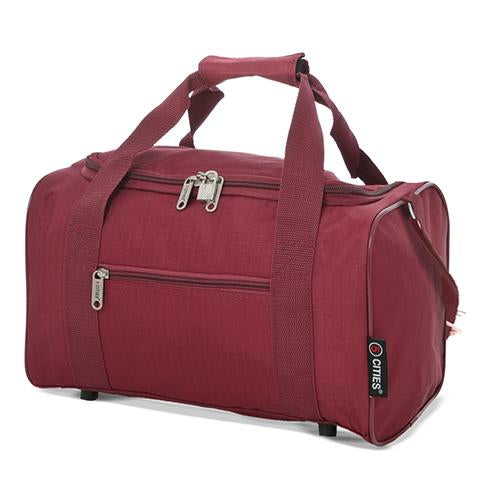 5 Cities (35x20x20cm) Holdall Bag | Wine