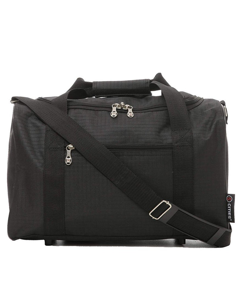 5 Cities (55x40x20cm) Lightweight Cabin Hand Luggage and (40x20x25cm) Holdall Flight Bag