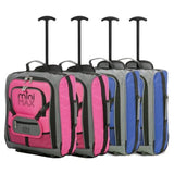 MiniMAX (45x35x20cm) Childrens Luggage | Blue & Pink