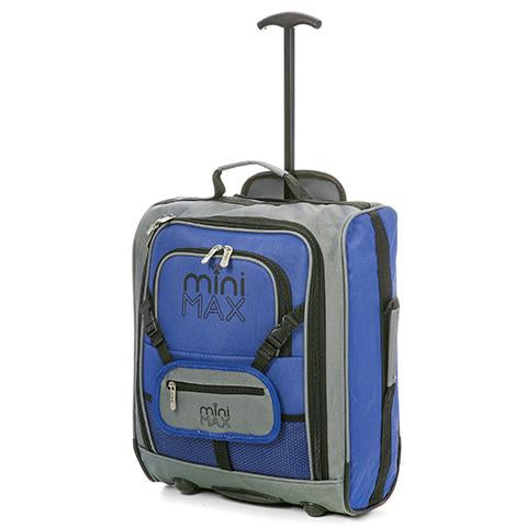 MiniMAX (45x35x20cm) Children's Luggage | Blue
