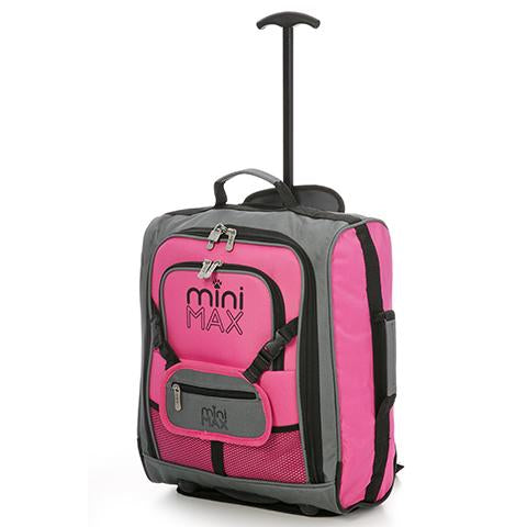 MiniMAX (45x35x20cm) Children's Luggage | Pink