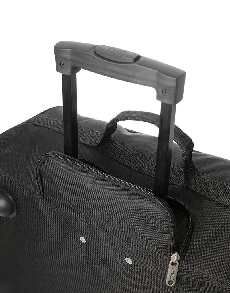 5 Cities (56x45x25cm) Lightweight Cabin Hand Luggage (x2 Set)