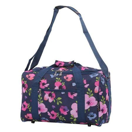 5 Cities (40x20x25) Under Seat Cabin Holdall – (Navy Floral)
