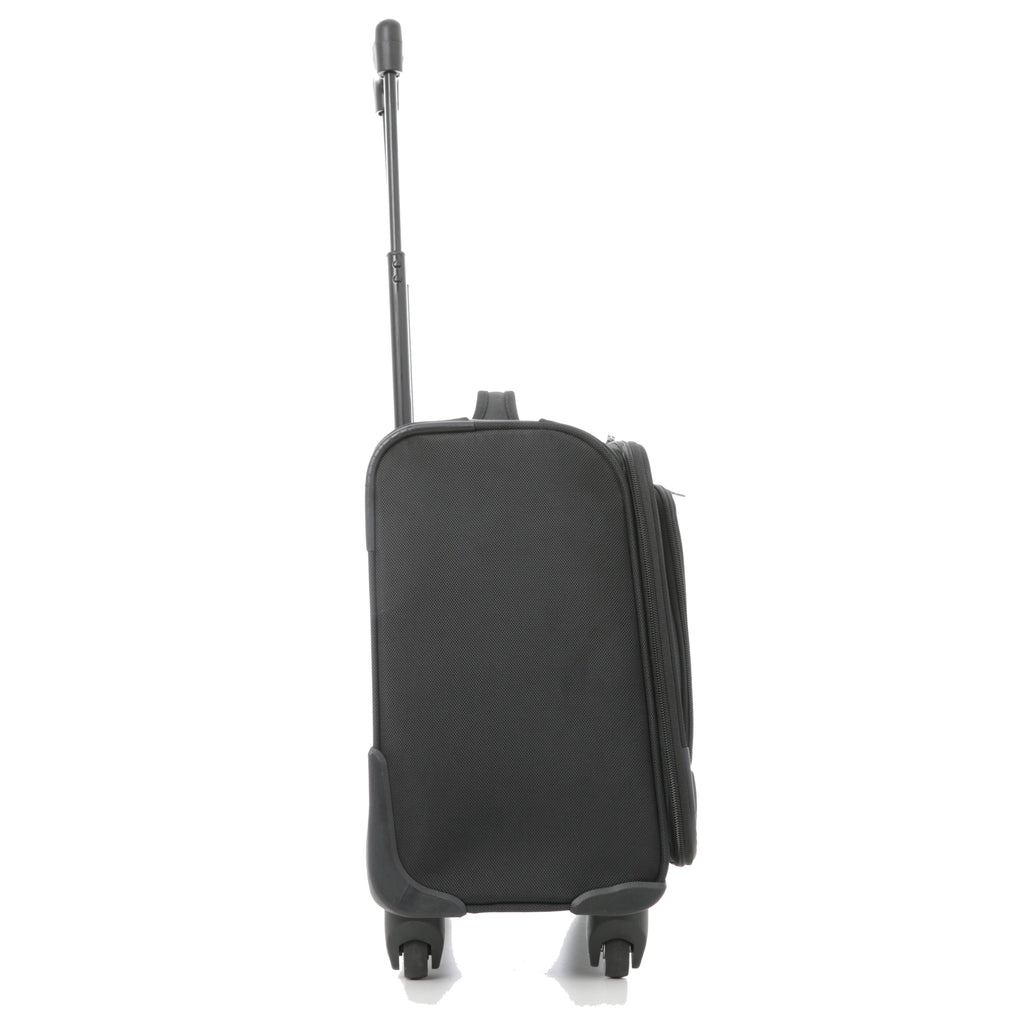 Aerolite (45x45x23cm) Executive Mobile Business Cabin Hand with Luggage Rolling Laptop Bag (x2 Set)
