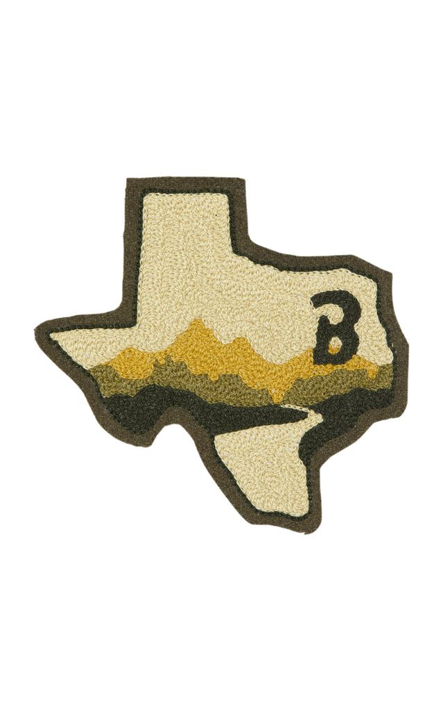 Anniversary TX State The B Patch Green x Ft. Lonesome - BRANDON MAXWEL