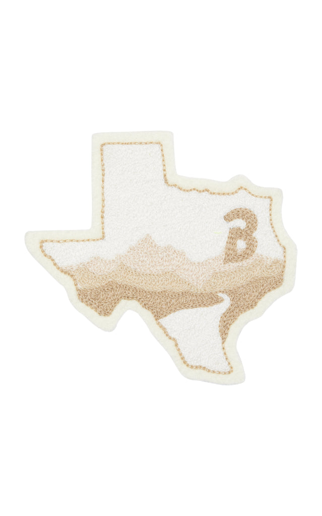 Anniversary TX State The B Patch White x Ft. Lonesome - BRANDON MAXWEL