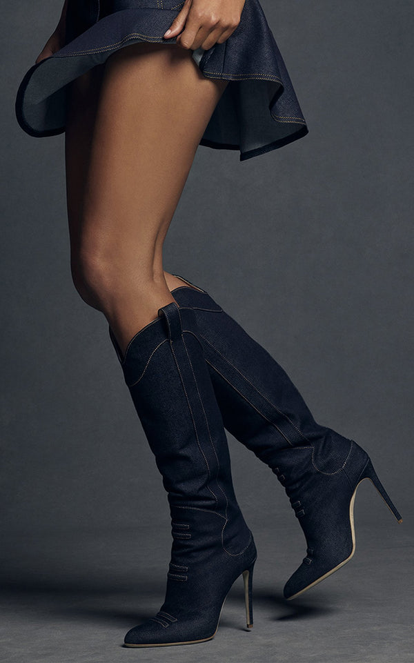 Denim Boot - BRANDON MAXWELL