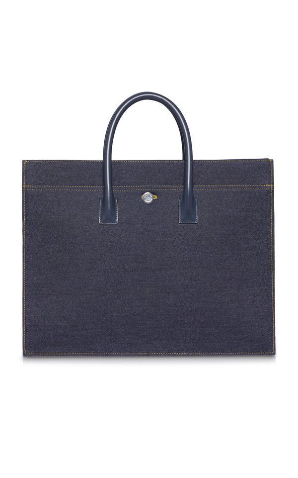 Denim Tote - BRANDON MAXWELL