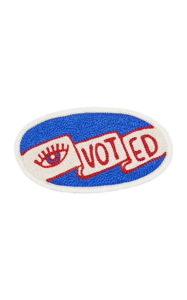 """I Voted"" Patch in Collaboration with Ft. Lonesome - BRANDON MAXWELL"