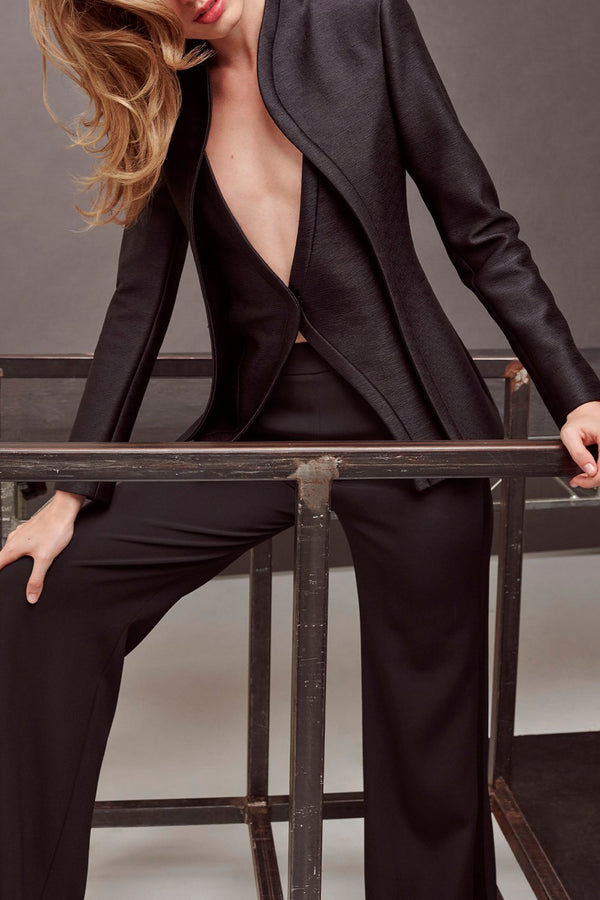 Corvo Layered Bodice Suit Jacket - BRANDON MAXWELL