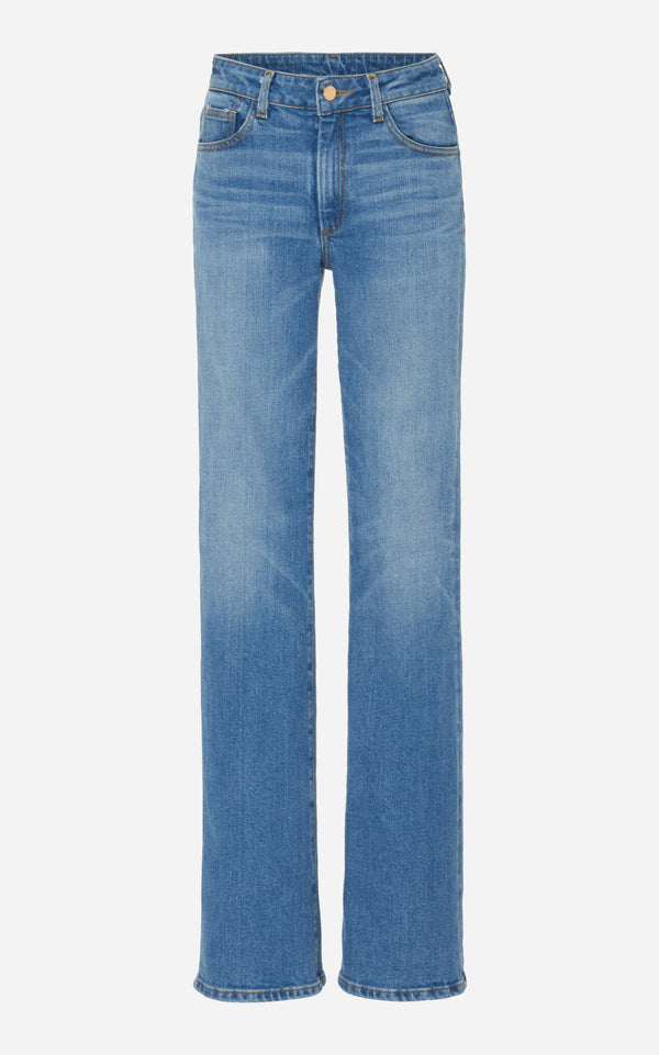 High Rise Jeans with Straight Leg
