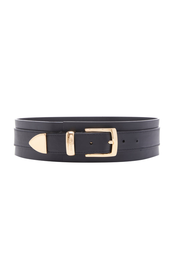 Leather Waist Belt - BRANDON MAXWELL
