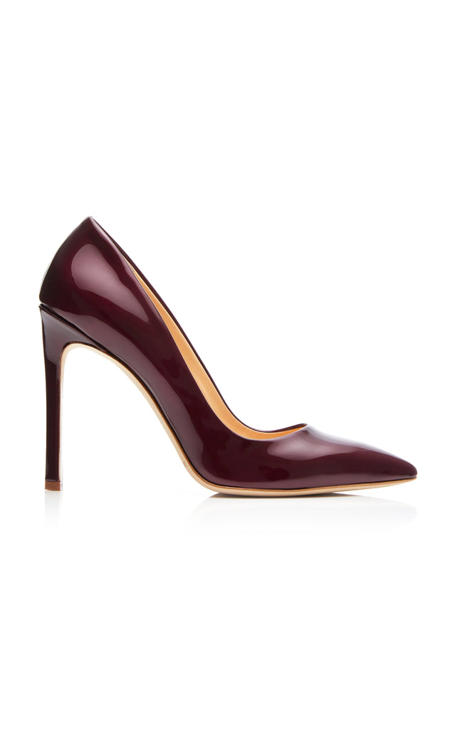 Patent Leather Classic Pump - BRANDON MAXWELL