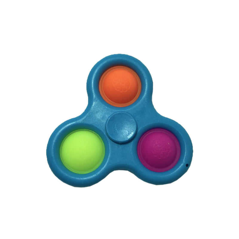 Simple Dimple Spinner fidget - Blå - 123Marked