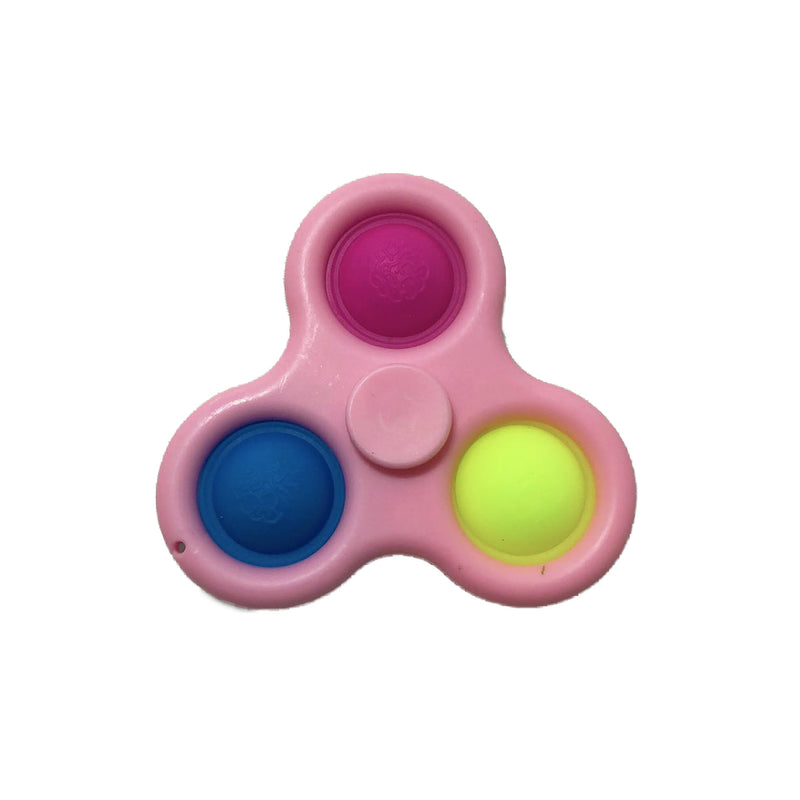 Simple Dimple Spinner fidget - Pink - 123Marked