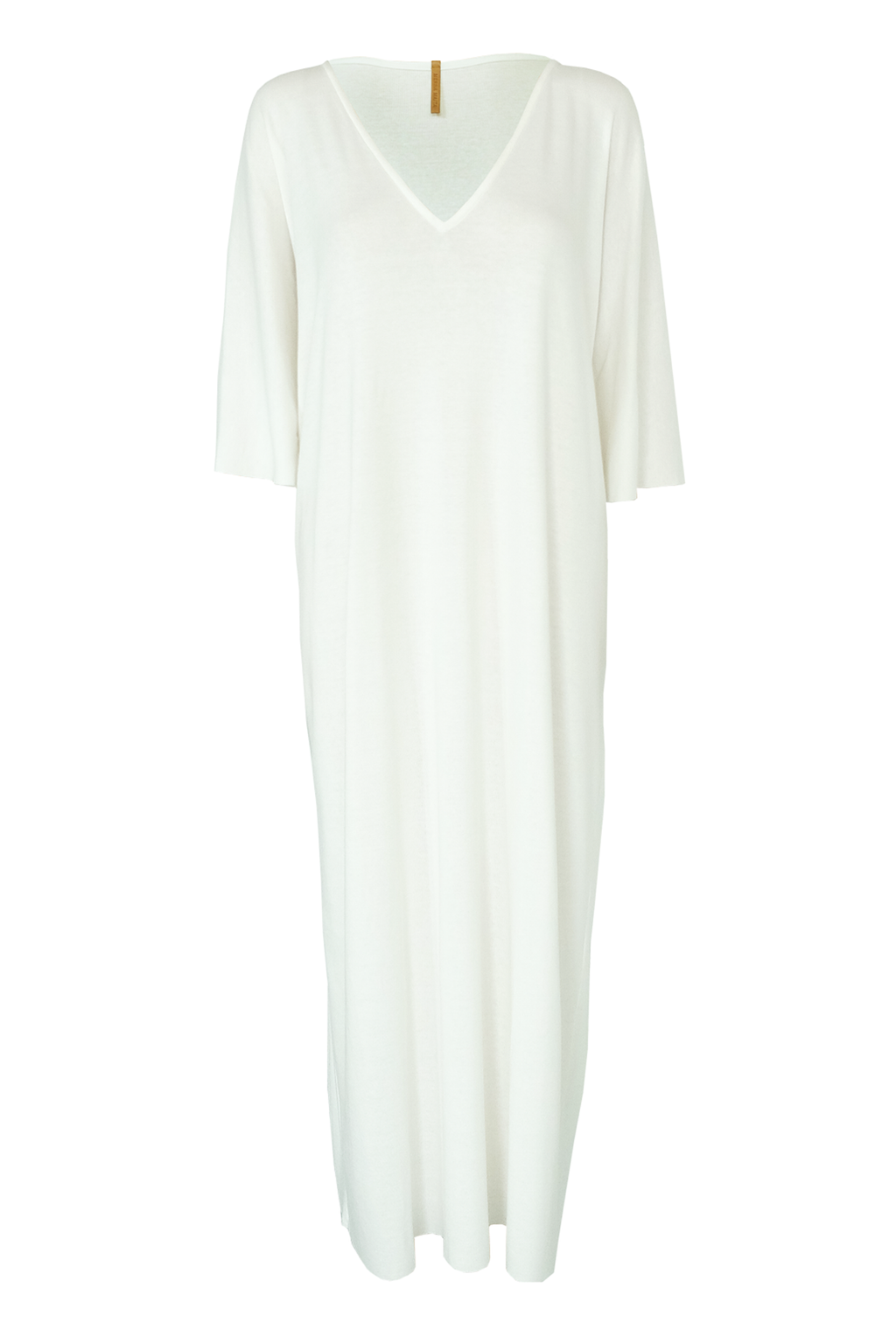 Big White Tee Caftan