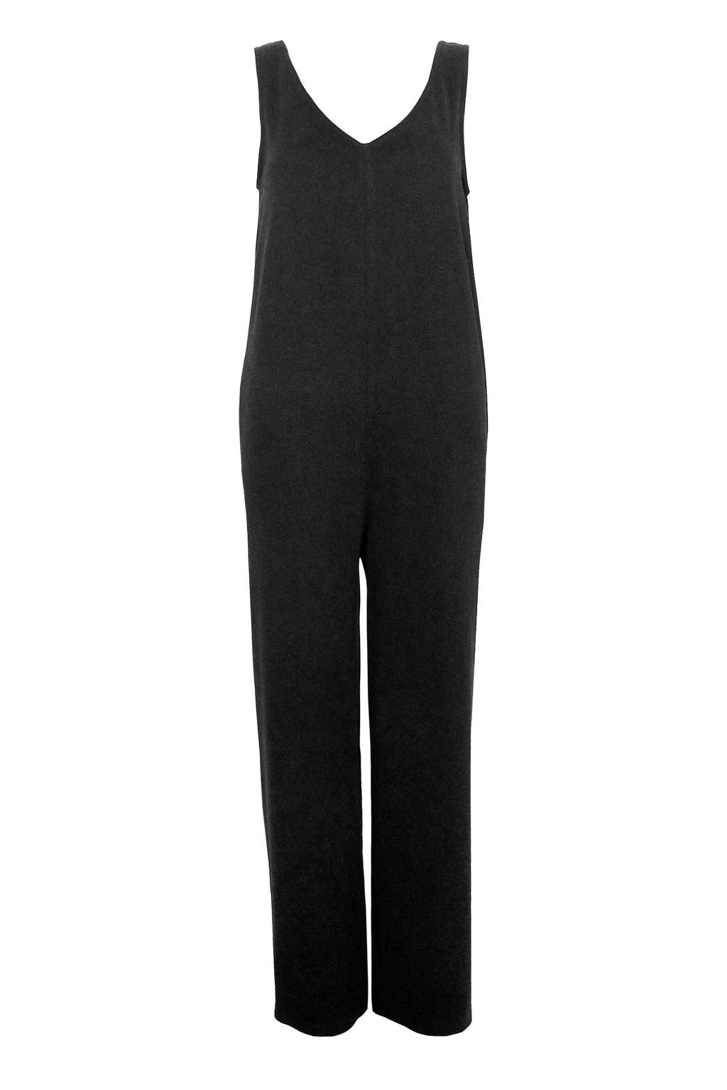 Tencel Jumpsuit - Black Texture