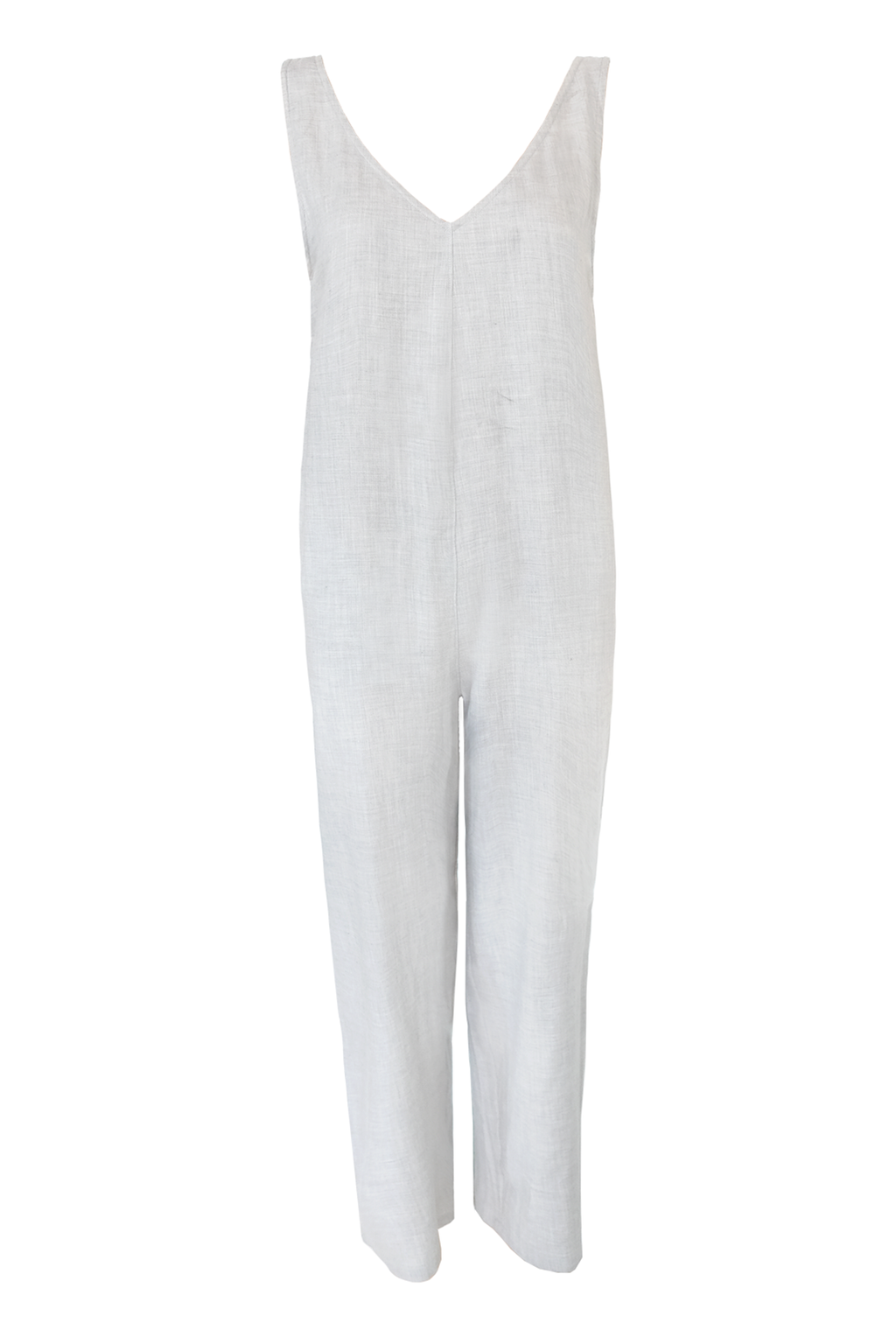 Cotton Cashmere Jumpsuit - Cloud