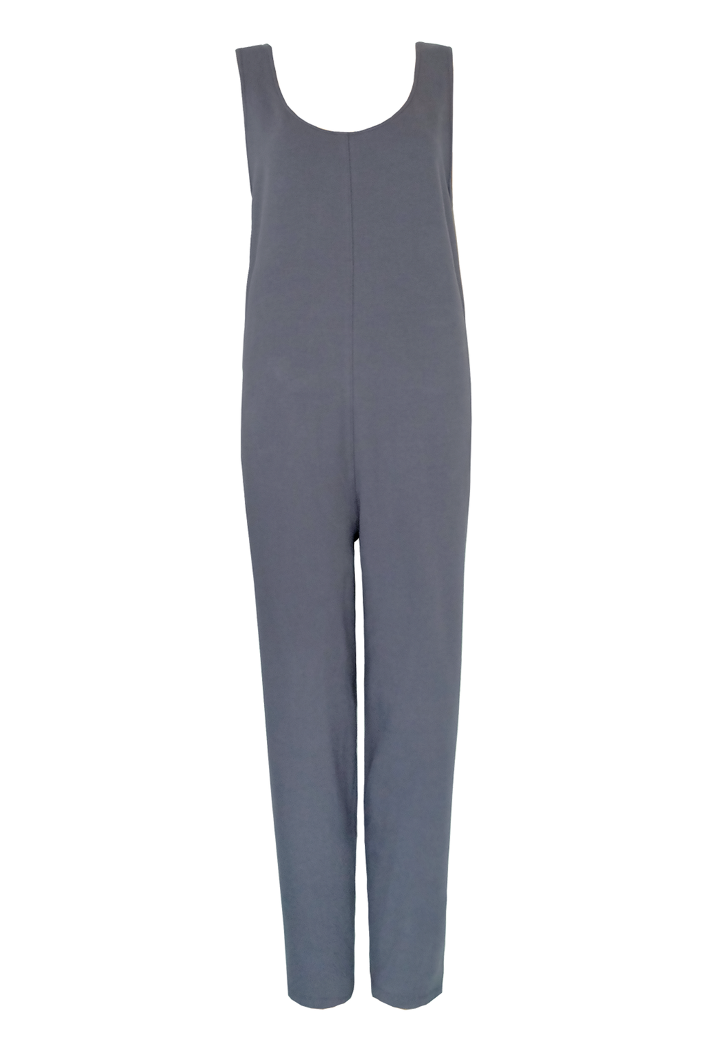 French Terry Jumpsuit - Elephant