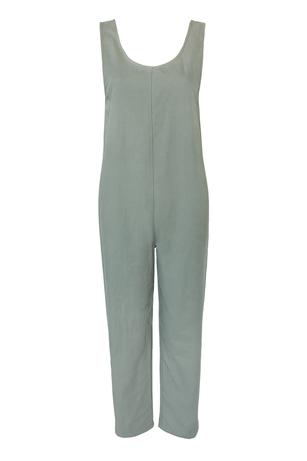 Canvas Jumpsuit - Sage