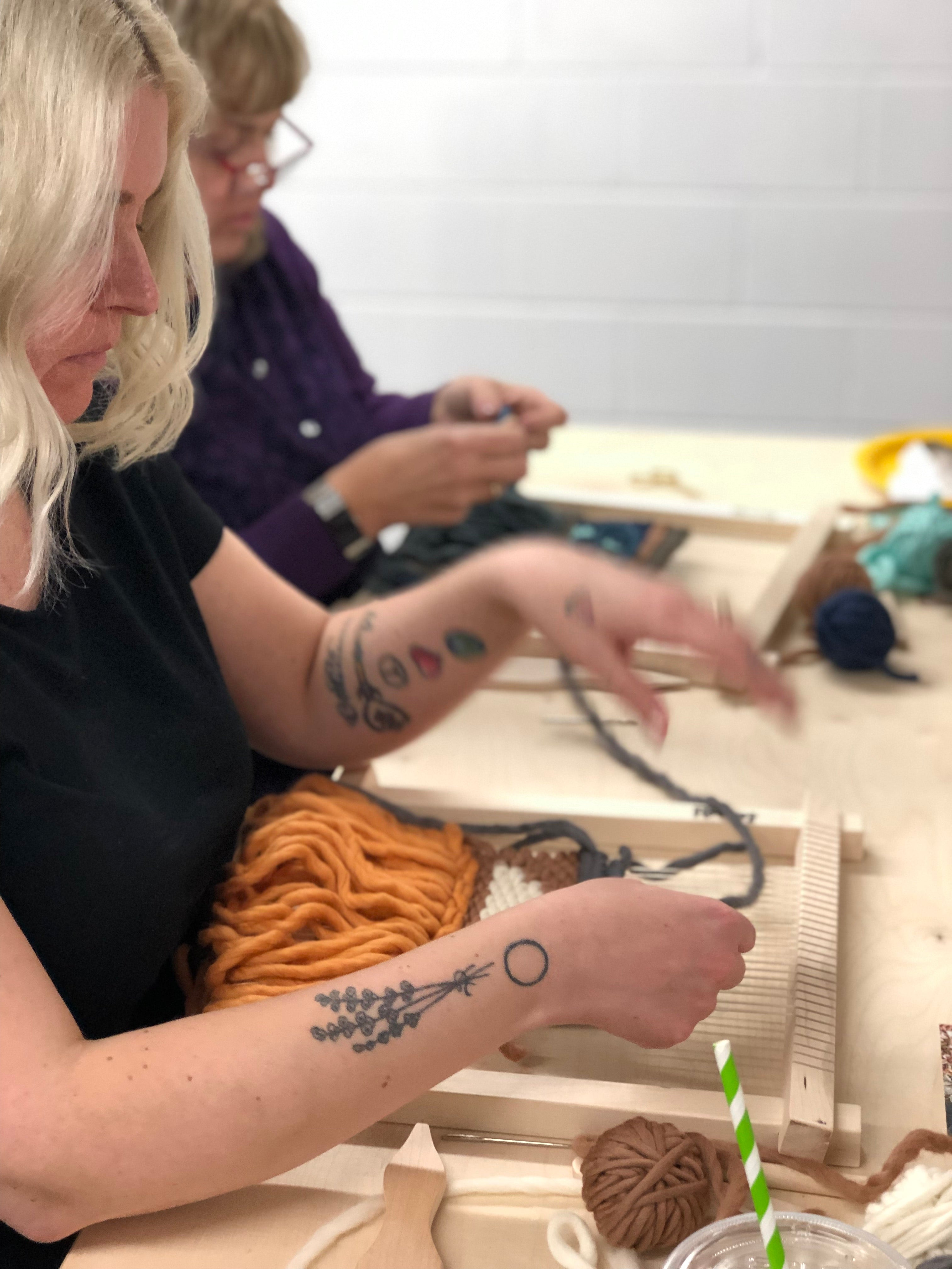 Private Weaving Workshop for Sarah