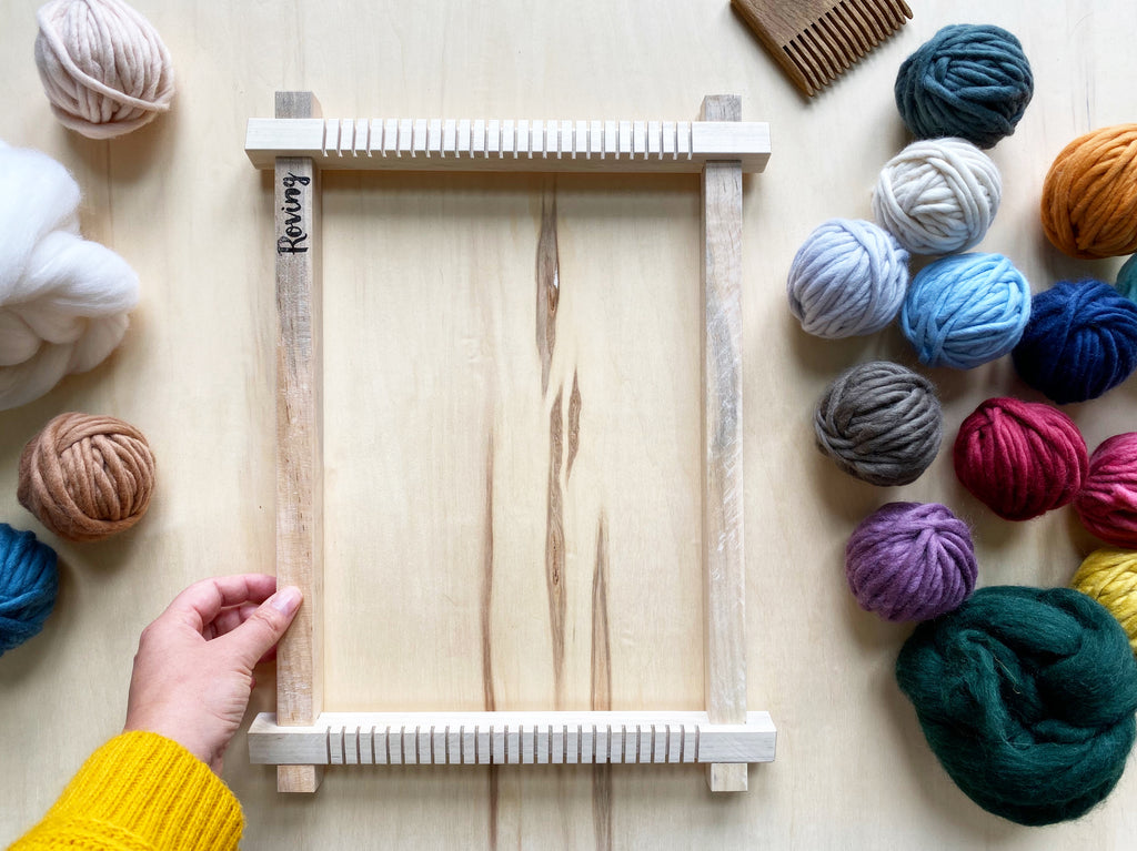 "The Wee One: 12"" Small Weaving Loom"