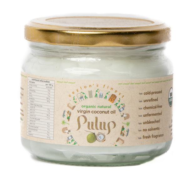 PULUP Organic Natural Virgin Coconut Oil 300ml