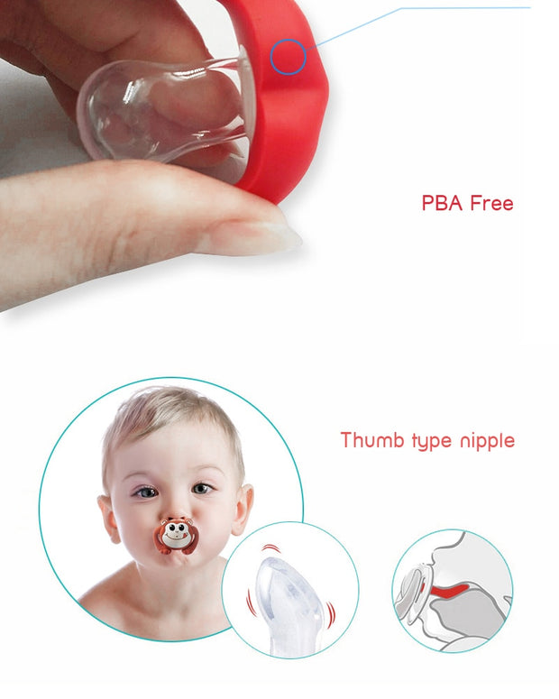 Silicone Pacifier Lips/Piggy nose Orthodontic