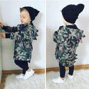 Dinosaur Long Sleeve Camouflage Jacket