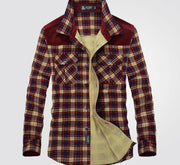 Plaid Long Sleeve Flannel m-xxxl
