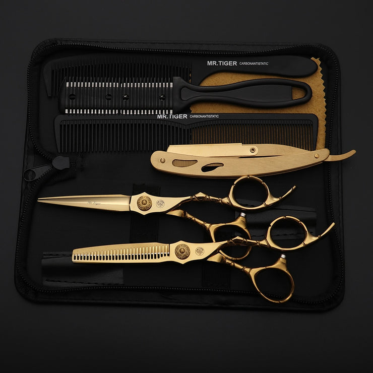 Professional Salon Hair Scissor With Razor
