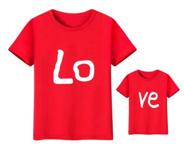 Matching Love T shirt