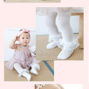 PANTYHOSE LACE BOW FLOWER