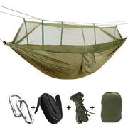 2 Person Camping Hammock with Mosquito Net