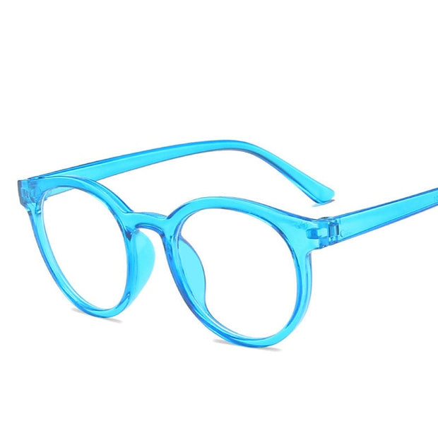ROUND FRAME ANTI BLUE LIGHT GLASSES