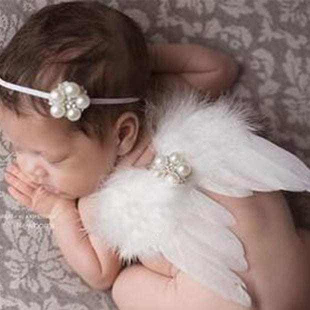 Newborn Photography Accessories Angel Wing Baby Photo Props