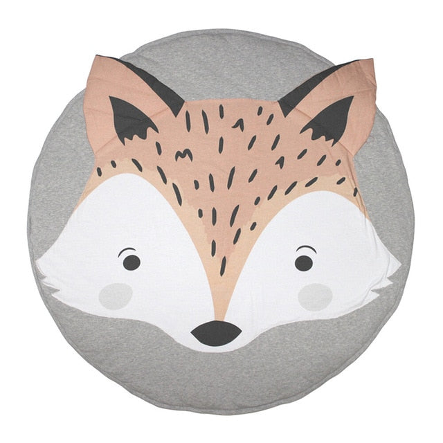 Animal Playmat Round