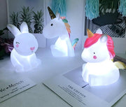LED Unicorn and Friends Lamps