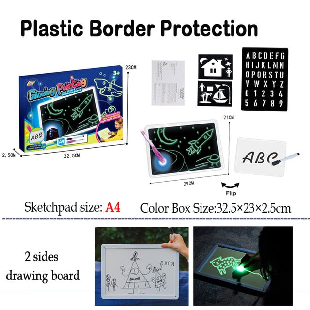 LUMINOUS DRAWING BOARD