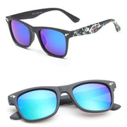 Square Mirror Sun Glasses