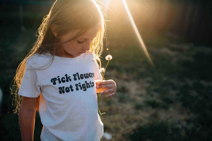 Pick flowers not fights Anti-bullying