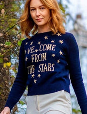 WE COME FROM THE STARS- Wool Sweater