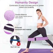 3PCS/ Resistance Bands Set Fitness Booty Band Home Workout